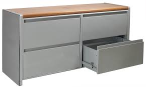 What Is A Lateral File Cabinet by Steelcase Used Four Drawer 60 Inch Lateral Credenza Gray