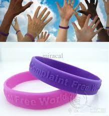 free bracelet images 2018 complaint free world motivation silicone bracelets fashion jpg