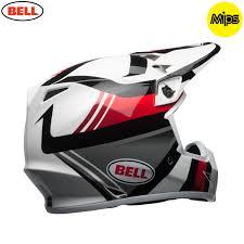 ufo motocross helmet 2018 bell mx 9 mips helmet marauder white black red