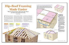 Hip Roof Measurements Hip Roof Framing Made Easier Fine Homebuilding