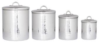 kitchen canister sets australia 4 hammered stainless steel canister set with fresh seal lids
