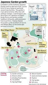 University Of Portland Map by 33 5 Million Portland Japanese Garden Expansion Completed On Time