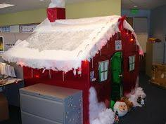 gingerbread christmas cubicle christmas office decor pinterest