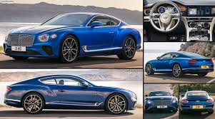 bentley bentley continental gt 2018 pictures information u0026 specs