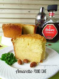 amaretta pound cake recipe pound cakes and paula jones