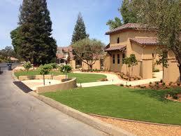 artificial grass bangor california landscape rock front yard
