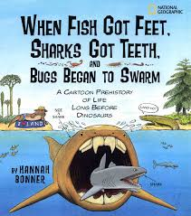 when fish got feet sharks got teeth and bugs began to swarm