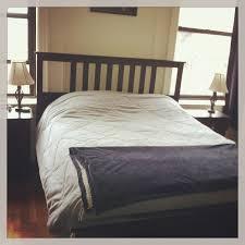bed frame white bed frames ikea leirvik bed frame white bed
