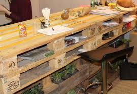 plan de bureau en bois faire un bureau en bois de palette des modèles page 2