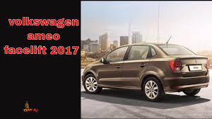 volkswagen ameo price volkswagen ameo facelift 2017 price specifications detailed youtube