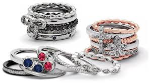 mothers rings stackable mothers rings sterling silver stackable designs with diamond accents