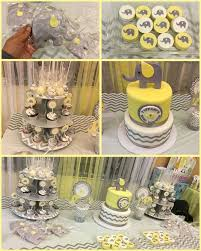 yellow baby shower ideas 66 best yellow and gray elephant baby shower theme ideas images on