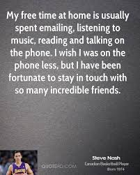 Home Is Quotes by Steve Nash Home Quotes Quotehd
