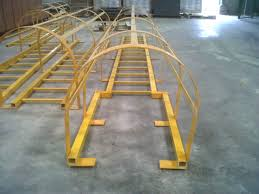 Plastic Handrail Frp Handrail Caged Ladder Fibre Reinforced Plastic Frp