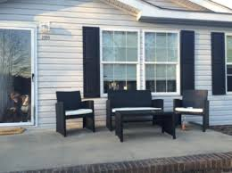 Patio Furniture Review Ohana 7 Piece Wicker Patio Set Review