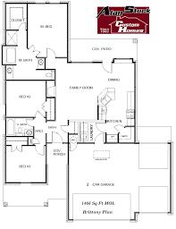 Custom Floor Plan Floor Plans Alan Stuck Custom Homes