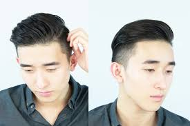 asian male side comb hair thehair men s modern slickback ivan lam youtube