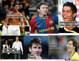 Funny Messi Memes - messi ronaldo by stefo meme center