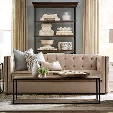 hgtv home design studio at bassett taupe contemporary sofa bassett home furnishings