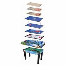 4 In 1 Game Table 10 In 1 Game Table Gt10167 Big W