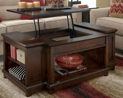 Coffee Lift Table Rustic Lift Top Coffee Table Kf I Would Paint The Sides A Lighter