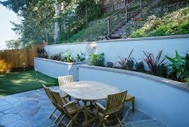 24 concrete retaining wall ideas for attractive garden landscape