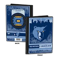 4x6 brag book grizzlies ticket album