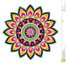 flower pattern mandala stock vector illustration of garden 42610125