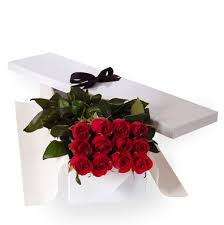 Long Stem Rose Long Stem Red Roses In A Box