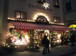 an ornament shop in rothenburg ob der tauber photo
