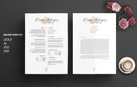 black u0026 white cv resume template m resume templates creative