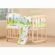 online shop wood baby cradle rocking crib bassinet bed sleeper