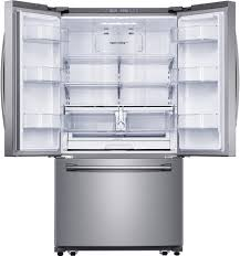 Samsung French Door Refrigerator Cu Ft - samsung rf260beaesr 36 inch french door refrigerator with