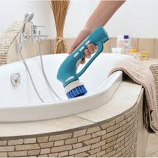 handheld electric cleaning brush scrubbing tool for bathroom