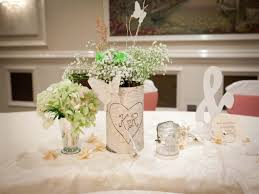 Table Decorations Wedding Tables Wedding Table Centerpieces With Fairy Lights