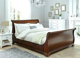 Cheap Sleigh Bed Frames Cheap Wood Bed Frames Selv Me