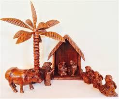 wooden nativity set wooden nativity