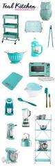 Turquoise Kitchen Decor by Best 10 Teal Kitchen Decor Ideas On Pinterest Diy Kitchen