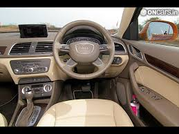 Audi Q3 Interior Pictures Audi Q3 Interior Photos India Com Photogallery