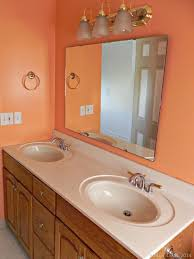 Diy Bathroom Makeovers - diy bathroom makeover reveal