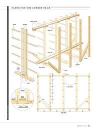 Wood Storage Rack Plans by Rack U0027em Up U2013 Canadian Home Workshop