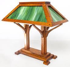 Arts And Crafts Desk Lamp Forsythes U0027 Auctions Llc Cincinnati Auctions