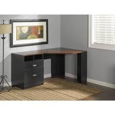Corner Desk Hutch Bush Furniture Wheaton Reversible Corner Desk Walmart Com