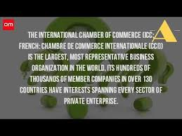 chambre commerce internationale what is the international chamber of commerce