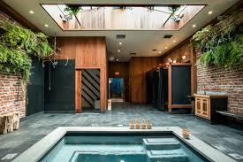 Home Store Design Quarter Former Auto Body Shop Transformed Into Zen Bathhouse Design Milk