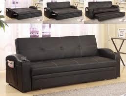 Sofa Bed Sleeper by Black Adjustable Sofa Bed Futon