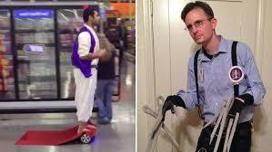 Alladin Halloween Costume Hoverboard Aladdin Edward Snowdenhands 2015 Halloween