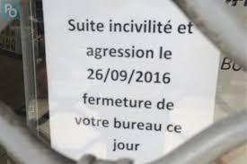 bureau poste 16 nantes incivilités violentes fermeture du bureau de la poste