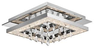 Crystal Flush Mount Ceiling Light Fixture by Fascinating Bantry Flush Mount Ceiling Lights Design With