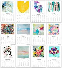 printable art calendar 2015 2016 printable art calendar tip junkie